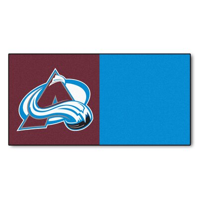 NHL - Chicago Blackhawks Team Carpet Tiles NHL Team: Colorado Avalanche