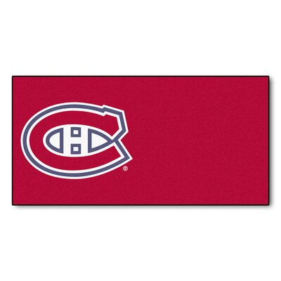 NHL - Chicago Blackhawks Team Carpet Tiles NHL Team: Montreal Canadiens