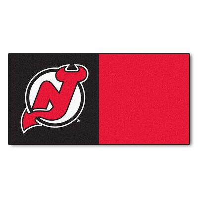NHL - Chicago Blackhawks Team Carpet Tiles NHL Team: New Jersey Devils