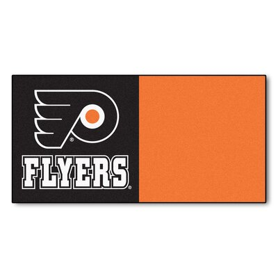 NHL - Chicago Blackhawks Team Carpet Tiles NHL Team: Philadelphia Flyers