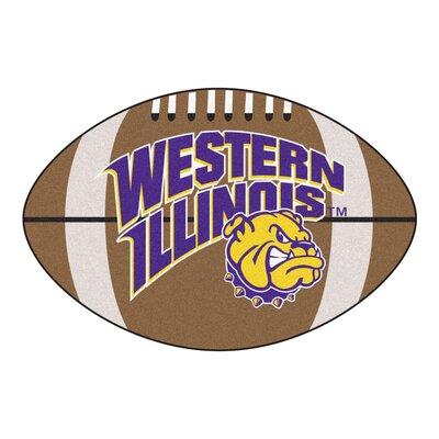NCAA Western Illinois University Football Mat