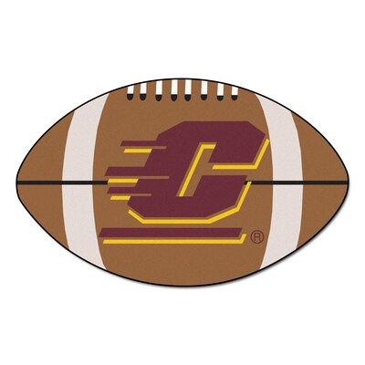 NCAA Central Michigan University Football Doormat