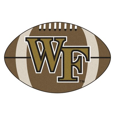 NCAA Wake Forest University Football Mat