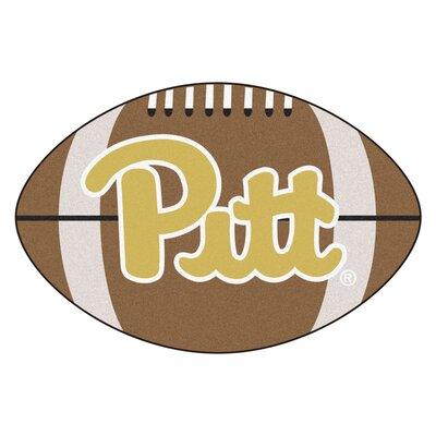 NCAA University of Pittsburgh Football Doormat