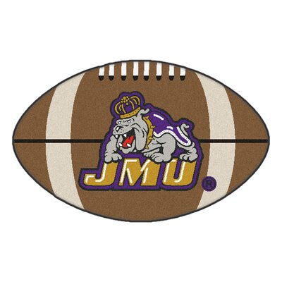 NCAA James Madison University Football Mat