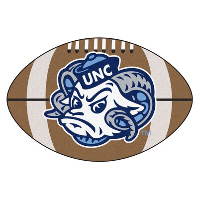 NCAA University of North Carolina - Chapel Hill Football Doormat