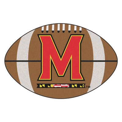 NCAA University of Maryland Football Doormat