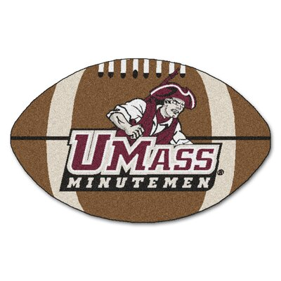NCAA University of Massachusetts Football Mat