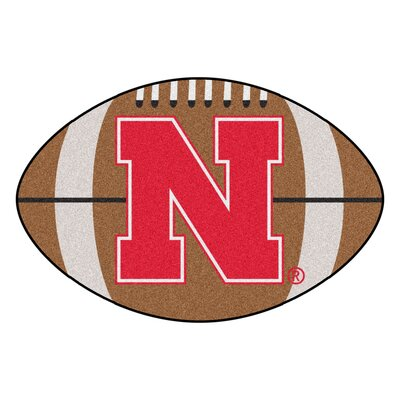 NCAA University of Nebraska Football Doormat