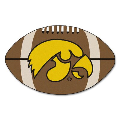 NCAA University of Iowa Football Doormat