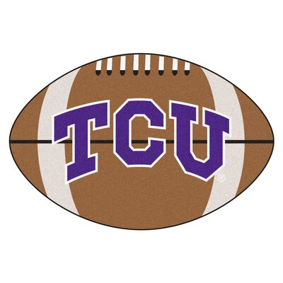 NCAA Texas Christian University Football Doormat