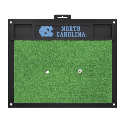 NCAA University of North Carolina - Chapel Hill Golf Hitting Mat