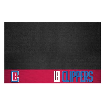 NBA Grill Utility Mat NBA Team: Los Angeles Clippers