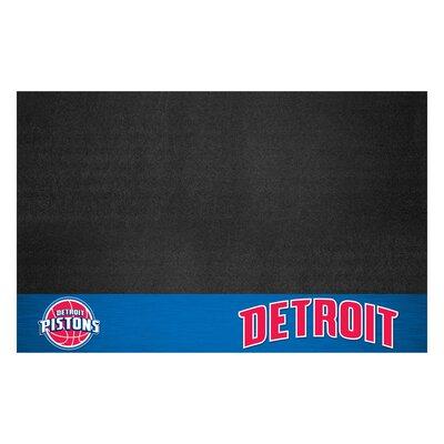 NBA Grill Utility Mat NBA Team: Detroit Pistons