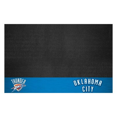 NBA Grill Utility Mat NBA Team: Oklahoma City Thunder