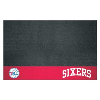 NBA Grill Utility Mat NBA Team: Philadelphia 76ers