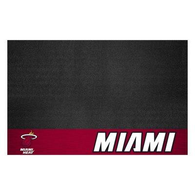 NBA Grill Utility Mat NBA Team: Miami Heat