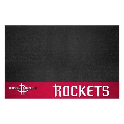 NBA Grill Utility Mat NBA Team: Houston Rockets