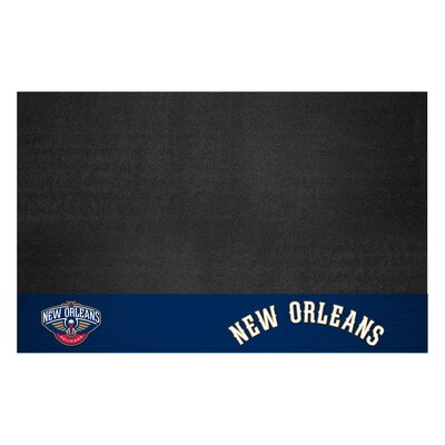 NBA Grill Utility Mat NBA Team: New Orleans Pelicans