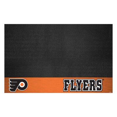 NHL Grill Utility Mat NHL Team: Philadelphia Flyers