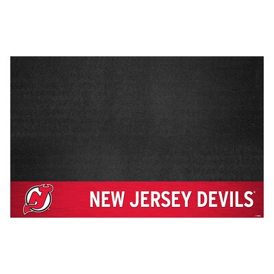 NHL - Grill Utility Mat NHL Team: New Jersey Devils