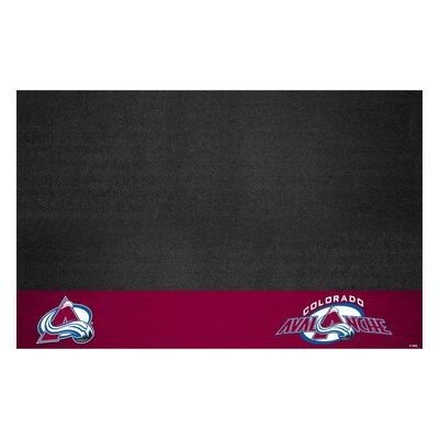 NHL Grill Utility Mat NHL Team: Colorado Avalanche