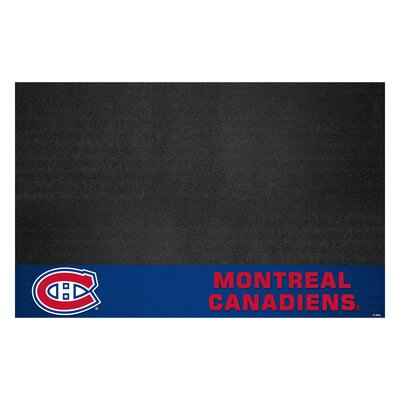 NHL - Grill Utility Mat NHL Team: Montreal Canadiens