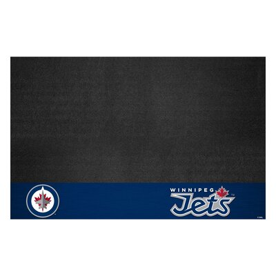 NHL Grill Utility Mat NHL Team: Winnipeg Jets