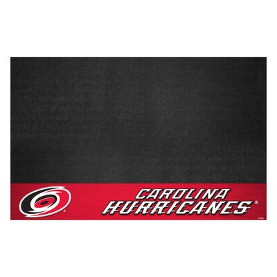 NHL Grill Utility Mat NHL Team: Carolina Hurricanes
