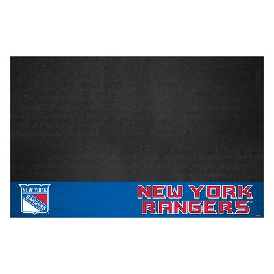 NHL - Grill Utility Mat NHL Team: New York Rangers