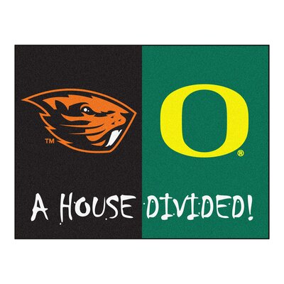 NCAA House Divided: Oregon / Oregon State House Divided Mat