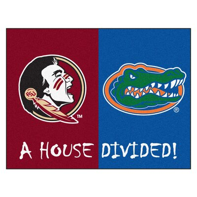 NCAA House Divided: Florida State / Florida House Divided Mat