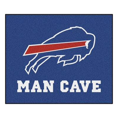 NFL - Buffalo Bills Man Cave Indoor/Outdoor Area Rug Rug Size: 5 x 6