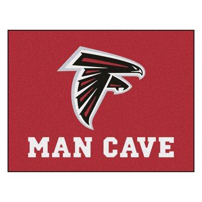 NFL - Atlanta Falcons Man Cave Starter Rug Size: 210 x 37