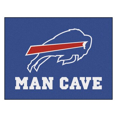 NFL - Buffalo Bills Man Cave Starter Rug Size: 210 x 37