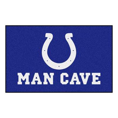 NFL - Indianapolis NCAAts Man Cave Indoor/Outdoor Area Rug Rug Size: 5 x 8