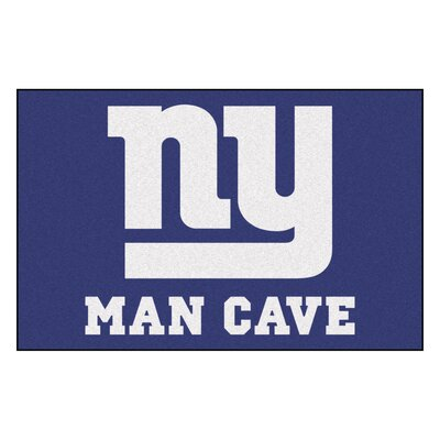 NFL - New York Giants Man Cave Starter Rug Size: 17 x 26
