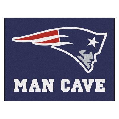 NFL - New England Patriots Man Cave Starter Rug Size: 210 x 37