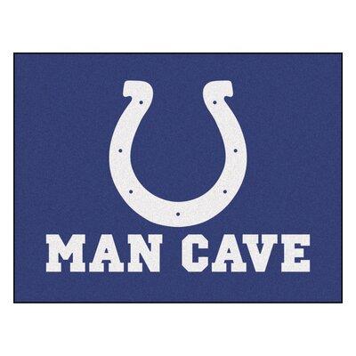 NFL - Indianapolis NCAAts Man Cave Starter Rug Size: 210 x 37