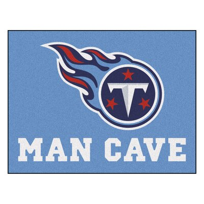 NFL - Tennessee Titans Man Cave Starter Rug Size: 210 x 37