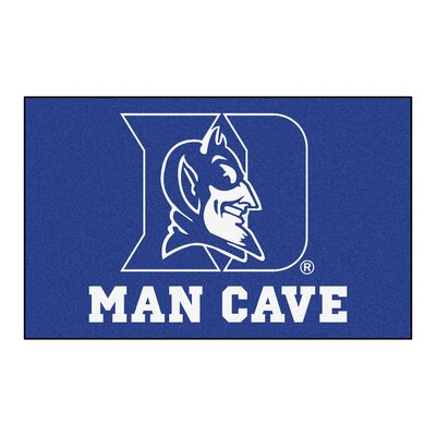 Collegiate NCAA Duke University Man Cave Doormat