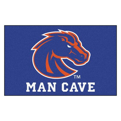 Collegiate NCAA Boise State University Man Cave Doormat