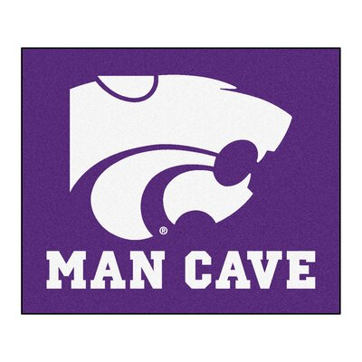 NCAA Kansas State University Man Cave Indoor/Outdoor Area Rug