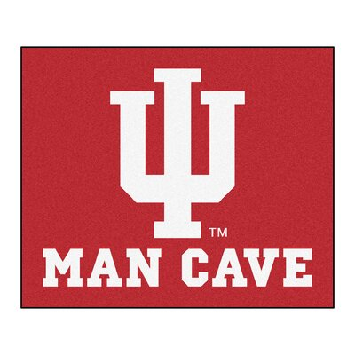 NCAA Indiana University Man Cave Indoor/Outdoor Area Rug