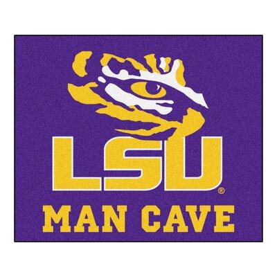 NCAA Louisiana State University Man Cave Indoor/Outdoor Area Rug