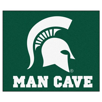 NCAA Michigan State University Man Cave Indoor/Outdoor Area Rug