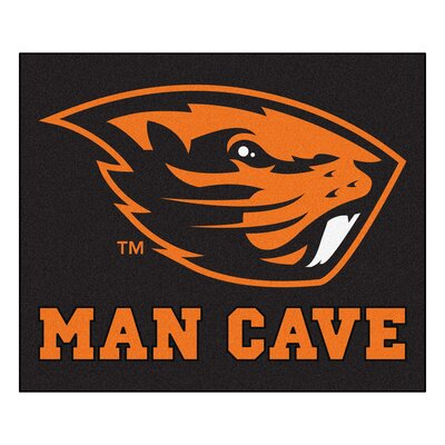 NCAA Oregon State University Man Cave Indoor/Outdoor Area Rug