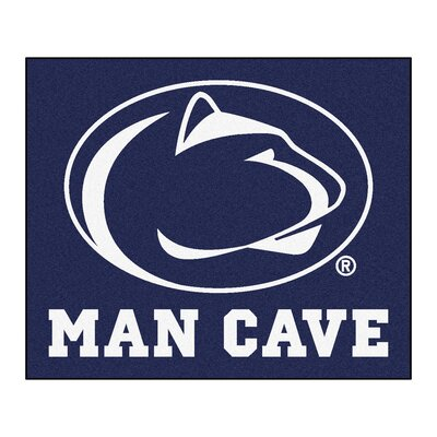 NCAA Penn State Man Cave Indoor/Outdoor Area Rug