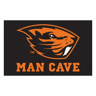Collegiate NCAA Oregon State University Man Cave Doormat