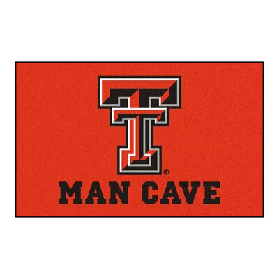 Collegiate NCAA Texas Tech University Man Cave Doormat